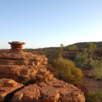 Kings Canyon Walk im Roten Zentrum Australiens